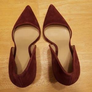 Michael Kors Shoes - Michael kors suede high heel